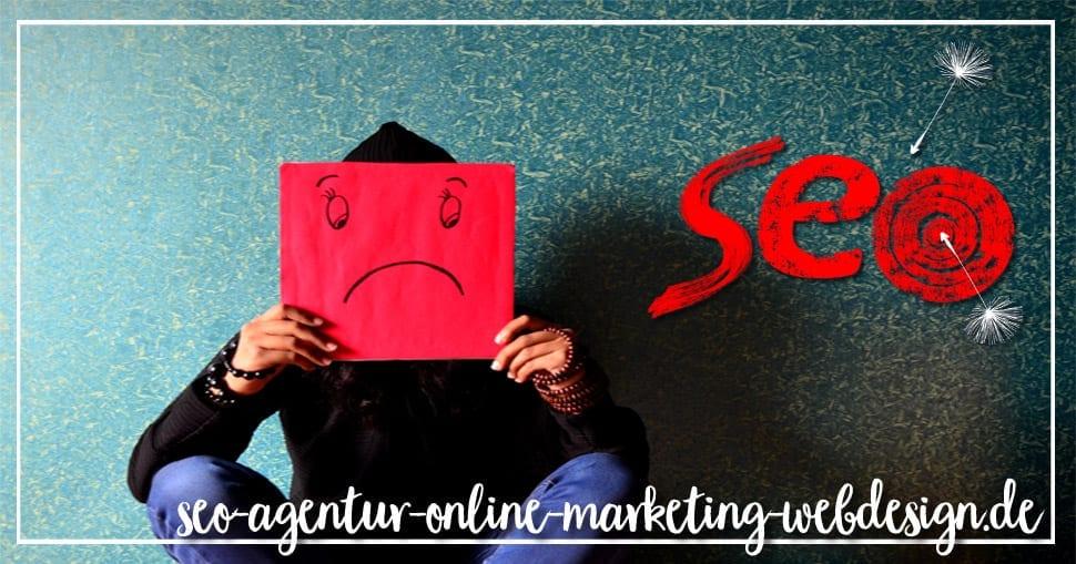 Unzufrieden mit Ihrer SEO Agentur