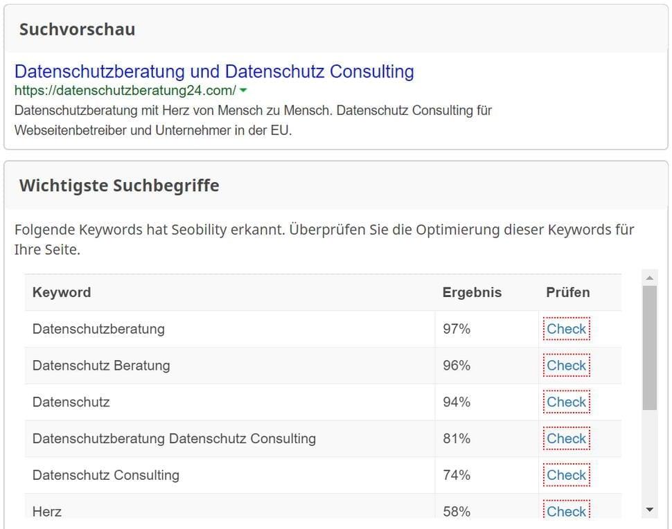 Case Study Deutsch