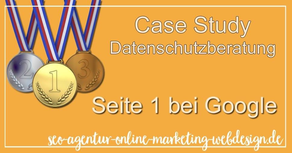 Datenschutzberatung Case Study Deutsch Beispiel