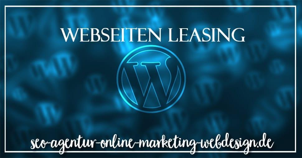Webseiten Leasing